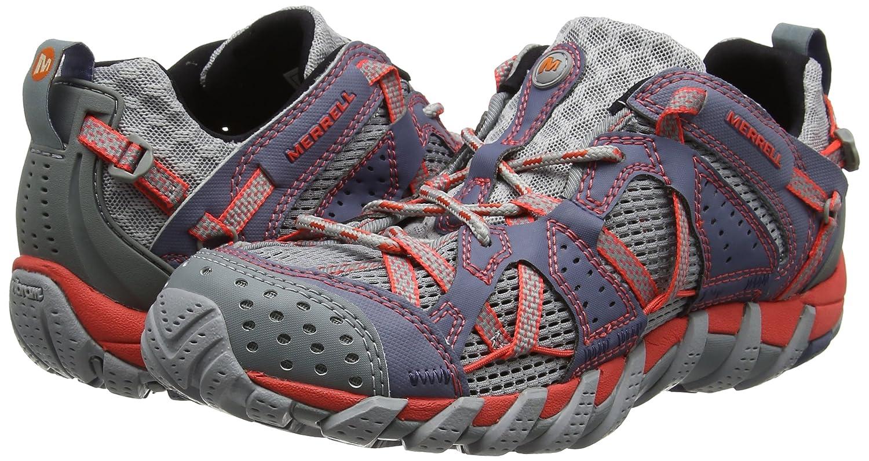 Amazon.com | Merrell Waterpro Maipo Women Multisport Outdoor Shoes, Multicolour (Folkstone), 5 UK (38 EU) | Hiking Boots