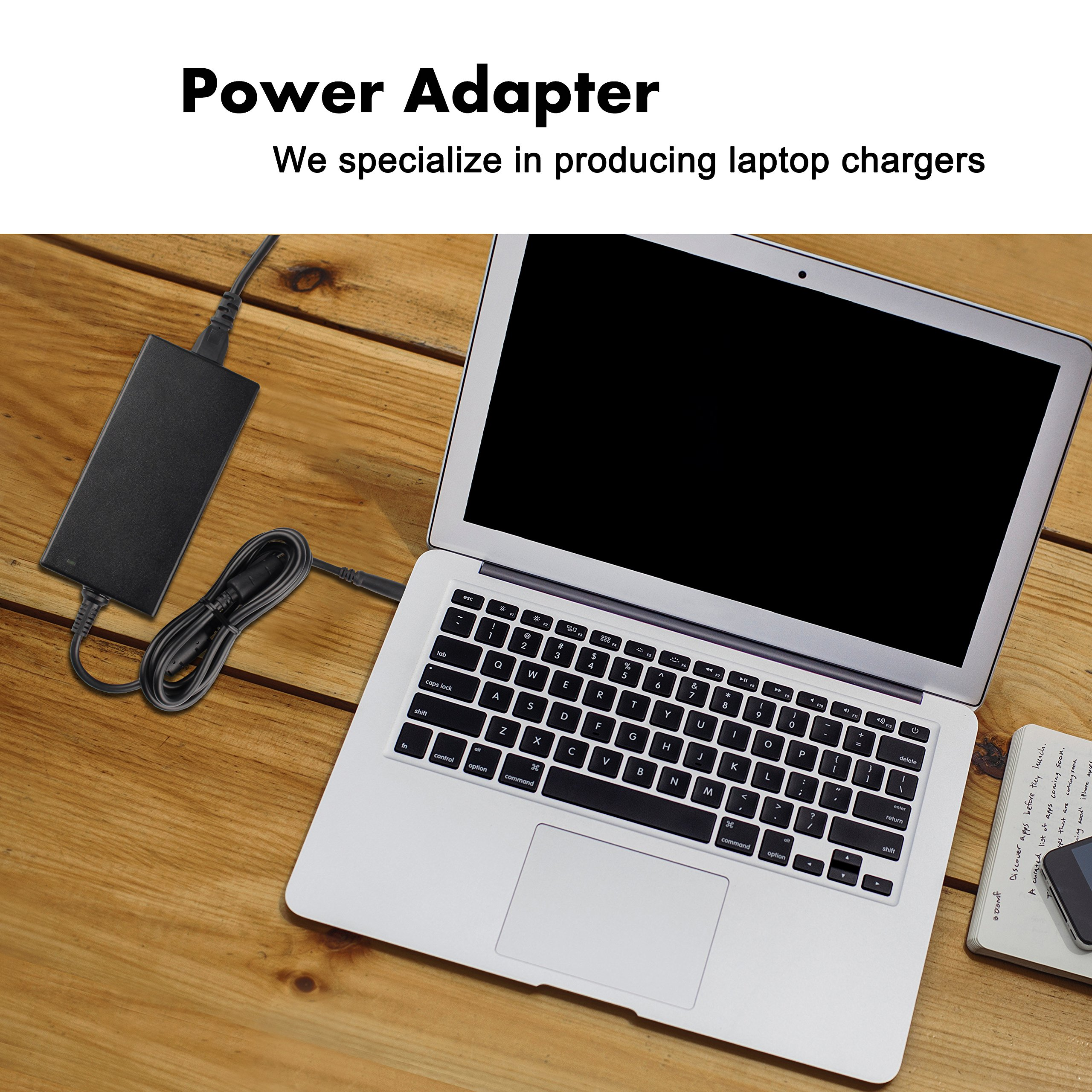 Juyoon 9.23A 180W AC Power Adapter Charger for DA180PM111 Dell Alienware 15 17 R2 R3 R4 M14x M15x M17x X51 R1 R2 Precision 7520 7510 7710 7720 M6800 M4800 M6700 M6600 M4700 M6500 Dock TB16 WD15 by JUYOON (Image #3)