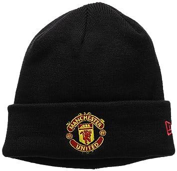 a0b716745aa New Era Men s Manchester United Cuff Knit Hat Beanie