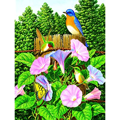 Early Morning 500 pc Jigsaw Puzzle by SUNSOUT INC: Toys & Games