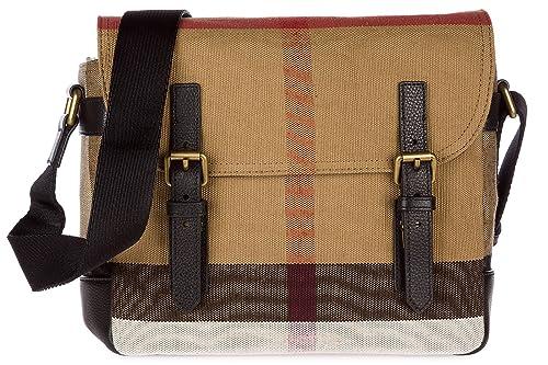 Burberry borsa uomo a tracolla borsello originale beige