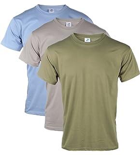53fd1440828e Blu Cherry 3 Pack Or 6 Pack Men s Cotton Regular Fit Round Collar Short  Sleeve T
