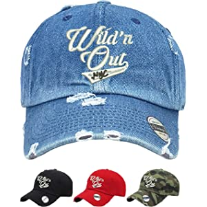 fa8e283384c Allntrends Adult Dad Hat Wild  N Out NYC Trendy Vintage Hat Embroidered Cap