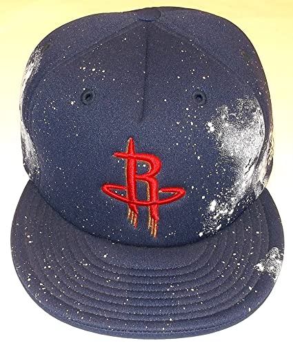 46943584c0708 Image Unavailable. Image not available for. Color  Houston Rockets Foam  Printed Fitted Adidas Hat ...