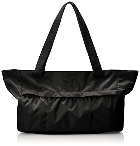 Puma AT Workout Bag Bolsa, Unisex Adulto, Negro Negro, Talla única