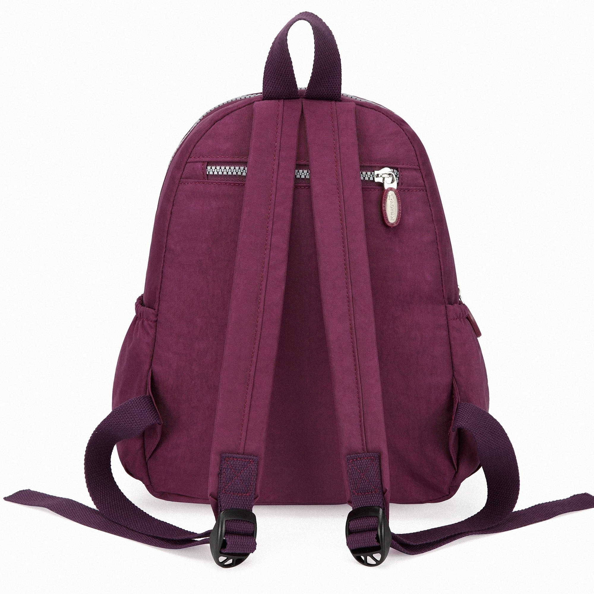 9266a8ed2f AOTIAN Mini Nylon Women Backpacks Casual Lightweight Strong Small Packback  Daypack for Girls Cycling Hiking Camping Travel Outdoor Purple -  EU3973purple ...