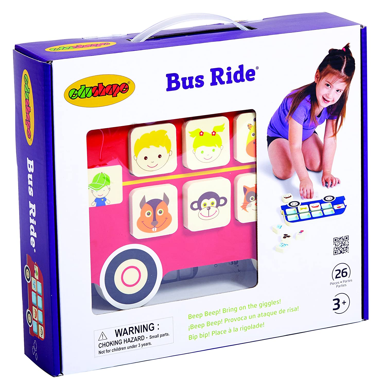 Edushape Bus Ride Game Edushape Dropship 905060
