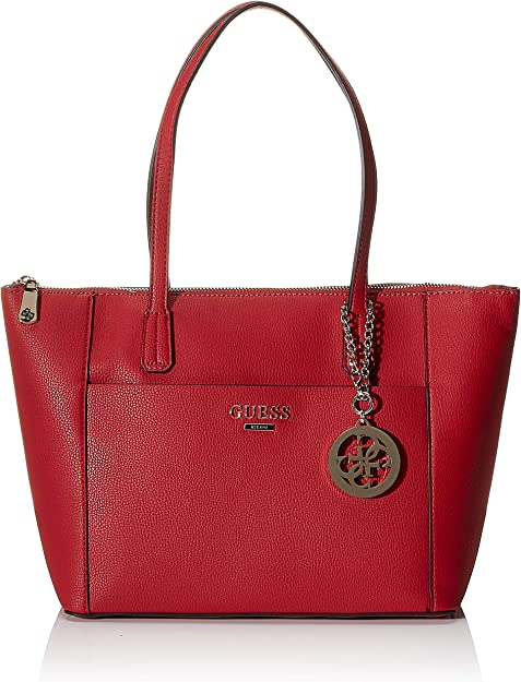 Guess Borse Rosse.Amazon Com Guess Tote Red Shoes