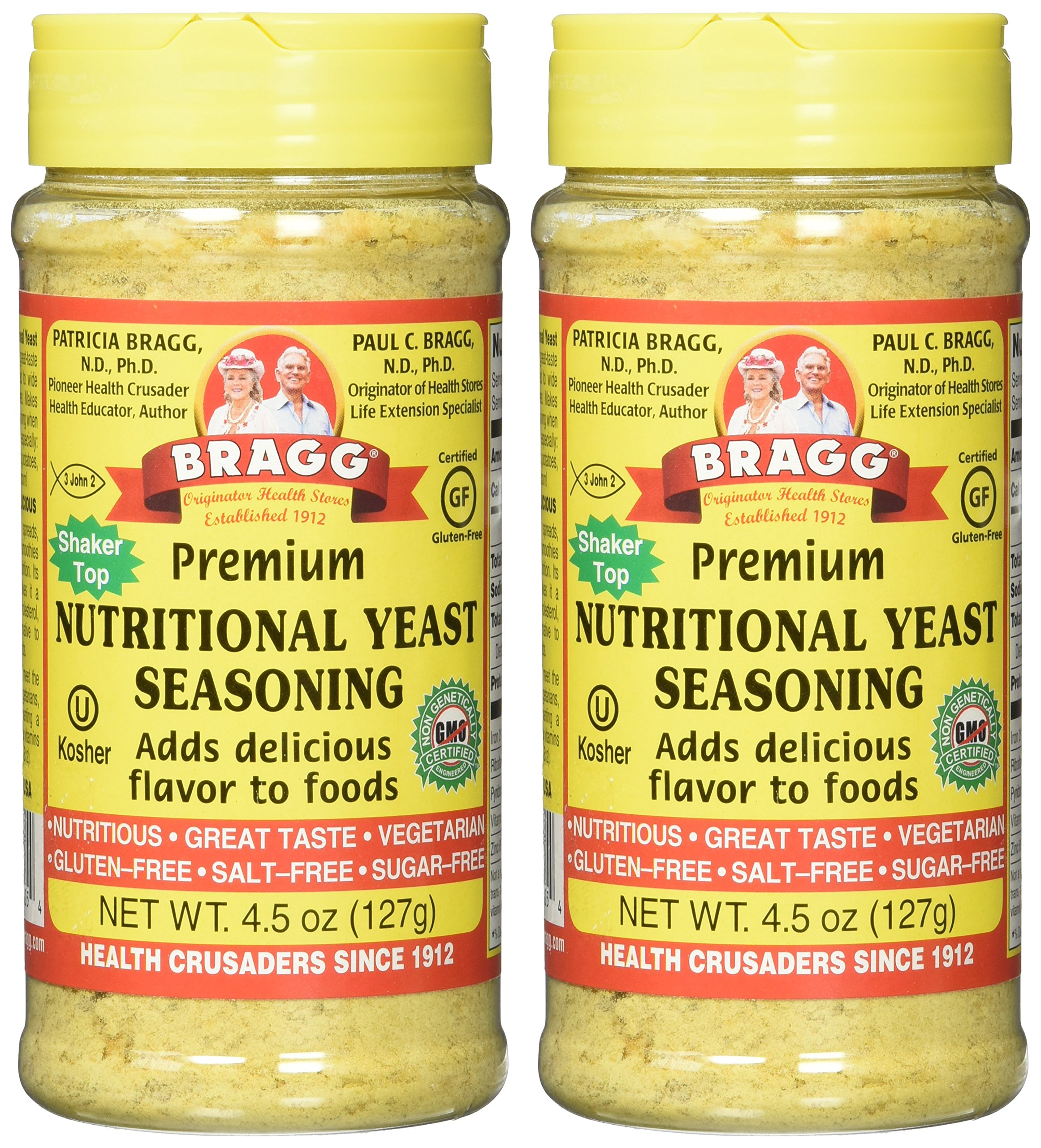 Bragg's Nutritional Yeast, 4.5 Oz, 2 Pack by Bragg (Image #2)
