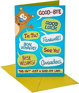 Amazon.com: American Greetings - Tarjeta de felicitación con ...