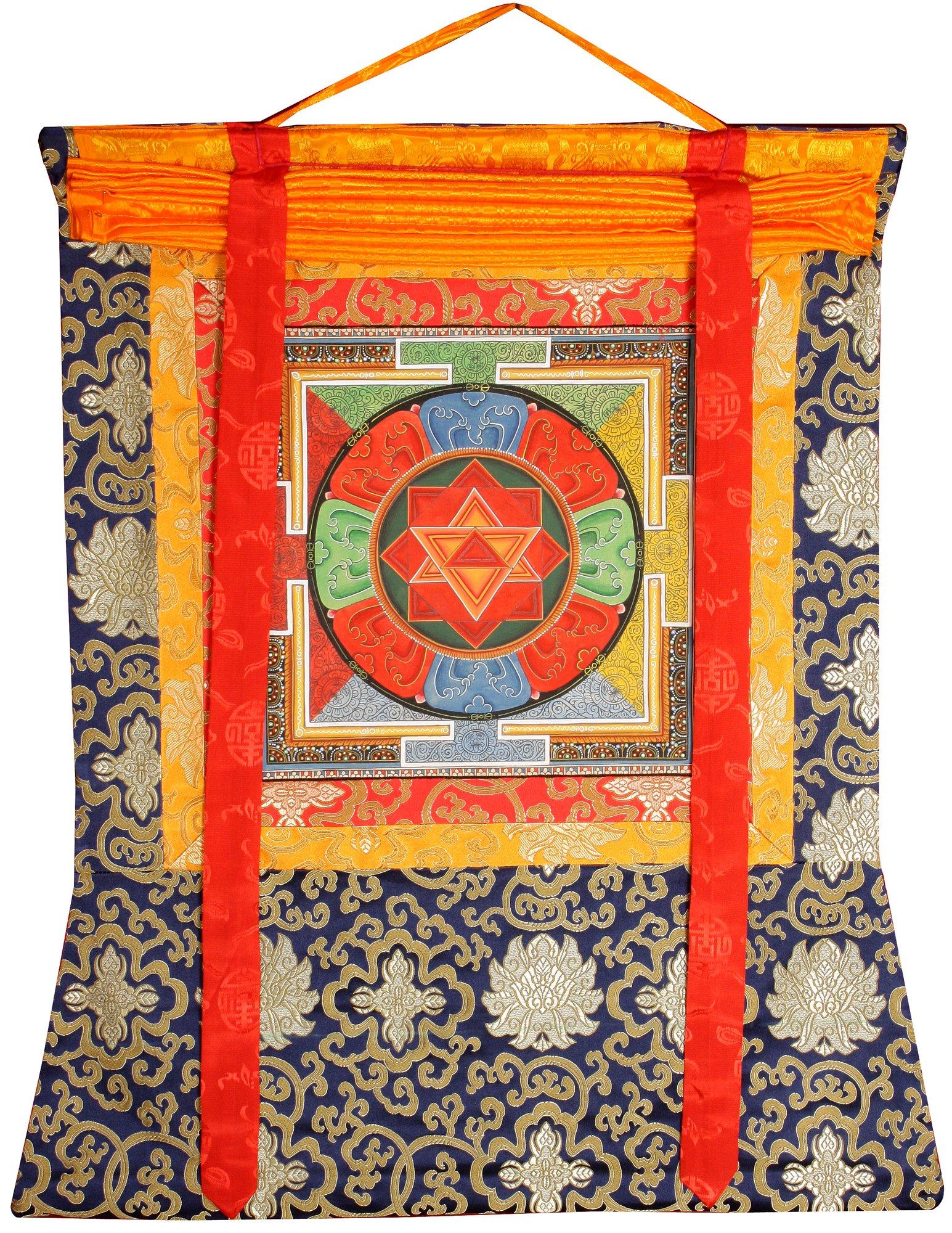 Vajrayogini Mandala - Tibetan Thangka Painting by Exotic India (Image #2)