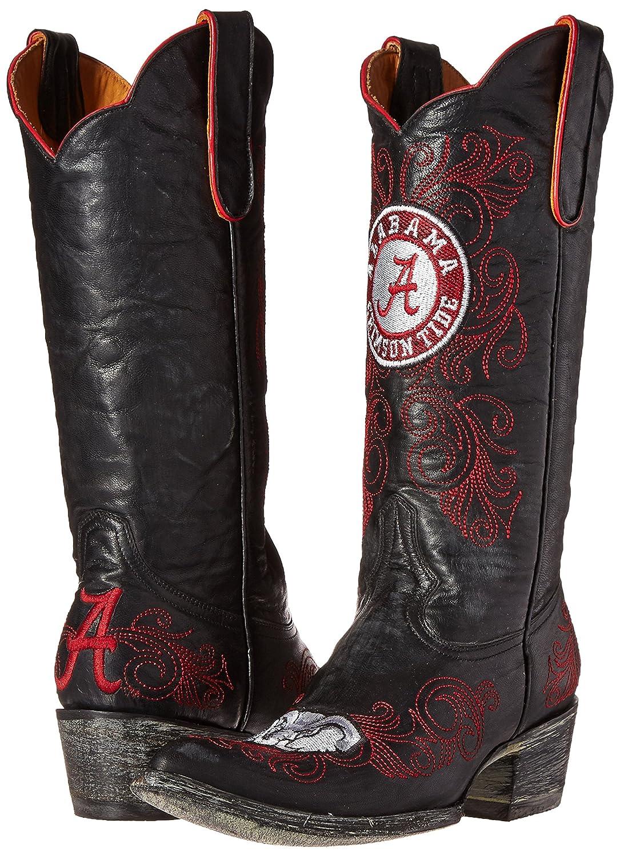 NCAA Alabama Crimson Tide Women's 13-Inch Gameday Boots B00CGNFAXQ 7 B (M) US|Black