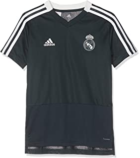 adidas Real Madrid Polyester Jacket Chaqueta, Hombre: Amazon ...