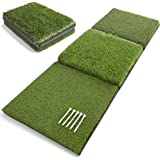 Victorem Golf Mat for Backyard - 17x39 Inch Unfolded, Durable Turf Mat for Indoor or Outdoor Golf Practice, Golf Hitting Mats