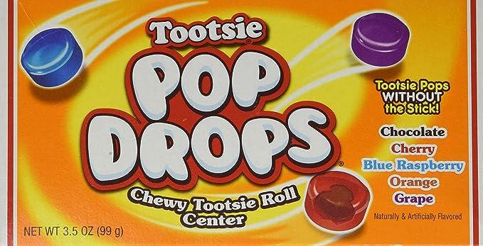 Tootsie Pop Drops crujiente Tootsie Roll centro dulces 1 x 99 g ...