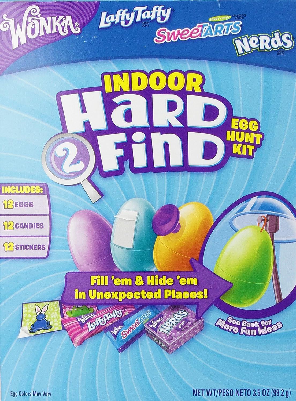 Wonka Indoor Egg Hunt Hard to Find Eggs, 3.5 Ounce: Amazon.com ...