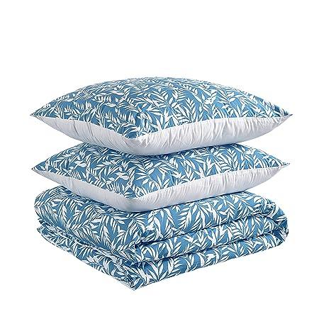 AmazonBasics - Juego de funda nórdica 100% algodón - 240 x 220 cm ...