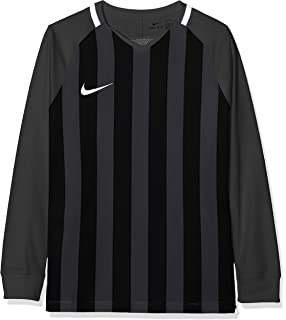 77618935c Nike Children's Striped Division Iii Ss Shirt: Amazon.co.uk: Sports ...