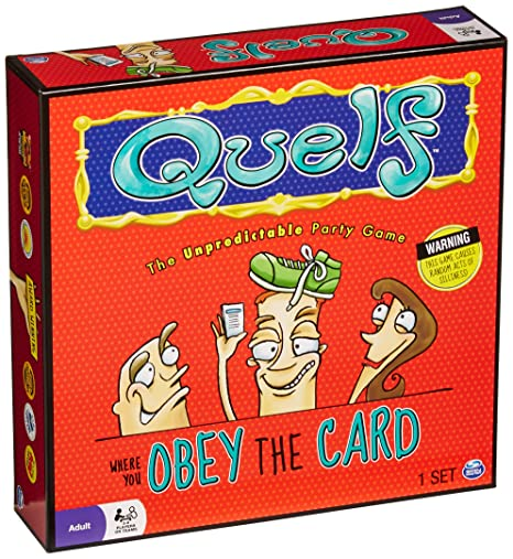 Amazon Spin Master Quelf Board Game Toys Games