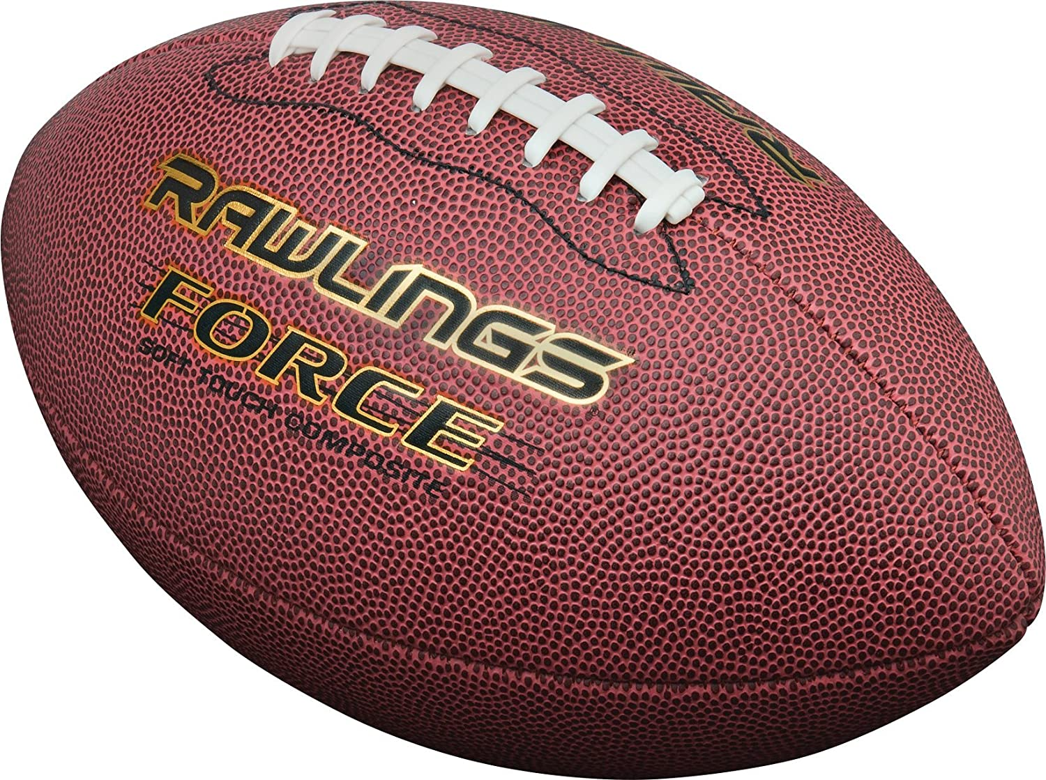 Rawlings Force Composite Leather Official Size Football Rawlings Sporting Goods