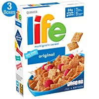 Deals on 3-Pack Life Breakfast Cereal Original 13oz