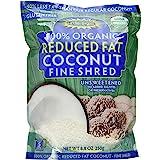 Let's Do Organic Lite Coconut, Shredded, 8.8 Ounce