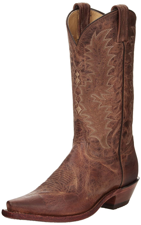 Tony Lama Boots Women's 1796-L Boot B004CUNINK 6 B(M) US|Tan Saigets Worn Goat