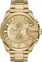 Diesel Men's Mega Chief Stainless Steel Chronograph Quartz Watch