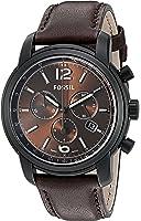 Fossil FSW7008 Swiss FS-5 Series Quartz Chronograph Leather Watch – Chocolate