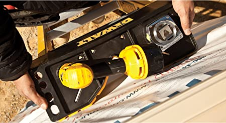 DeWalt DXL3020-28PT Escalera de extensión de fibra de vidrio de 28 pies tipo IA con capacidad de 300 libras, 28 pies: Amazon.es: Bricolaje y herramientas