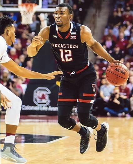 Amazon Com Keenan Evans Texas Tech Red Raiders Basketball 8x10 Sports Photo Ll Everything Else