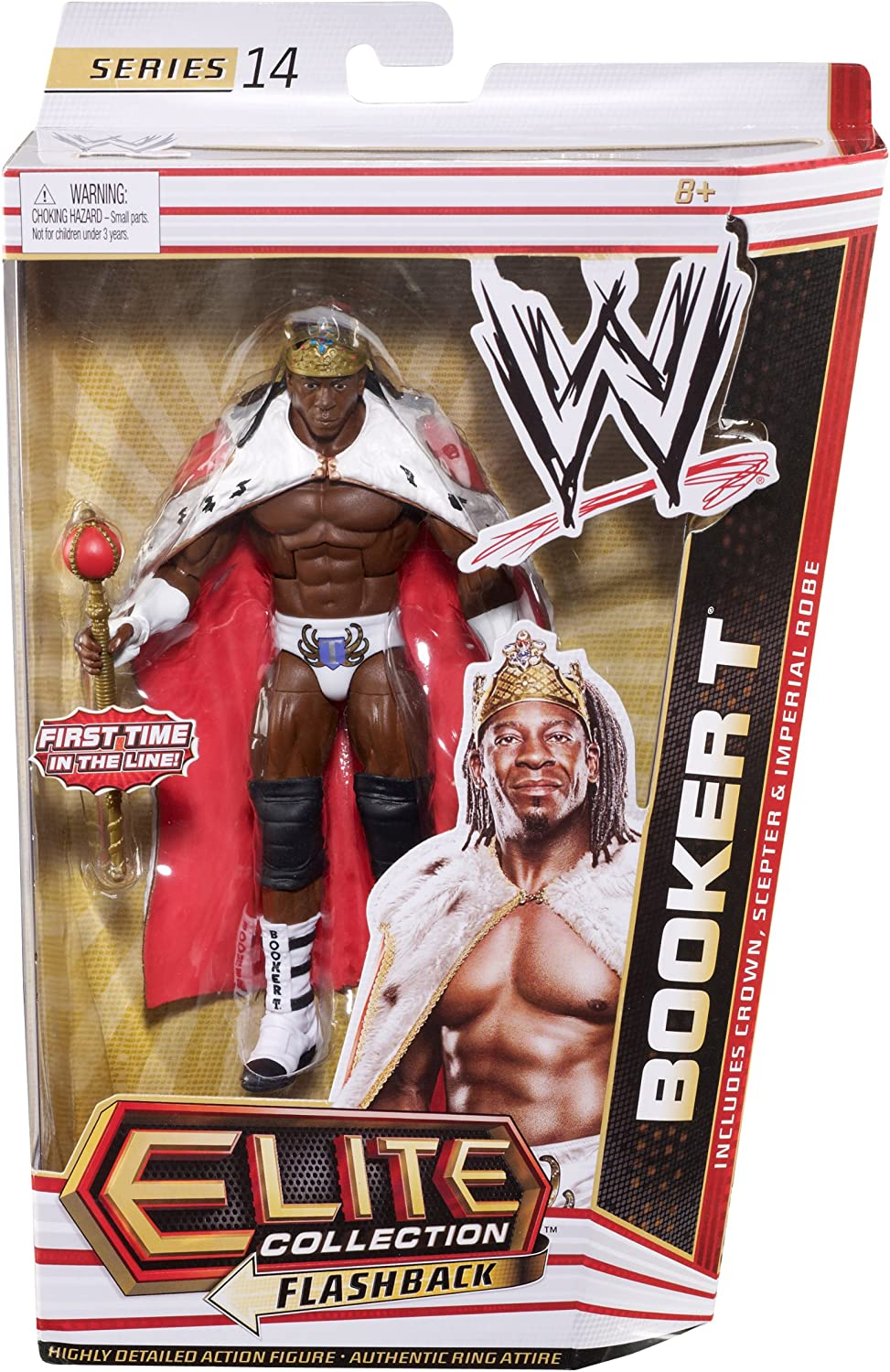 WWE Elite Collectors Booker T Figure Series 14