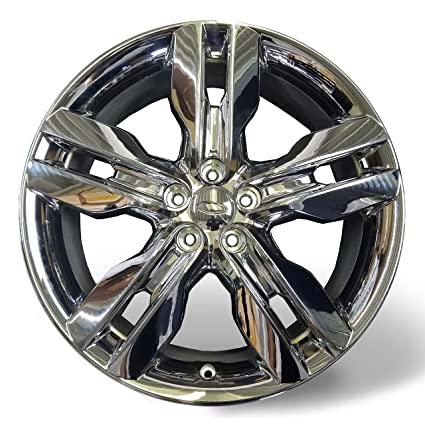 Amazon Com Velospinner New X  Lug Chrome Ford Edge   Replica Alloy Wheel  Automotive