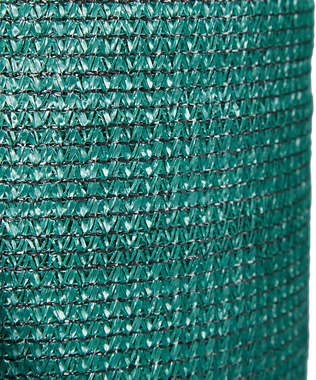 Relaxdays Zaunblende gr/ün Sichtschutz f/ür Zaun /& Balkongel/änder UV-stabilisiert wetterfest HDPE Gewebe 1,2 x 20 m