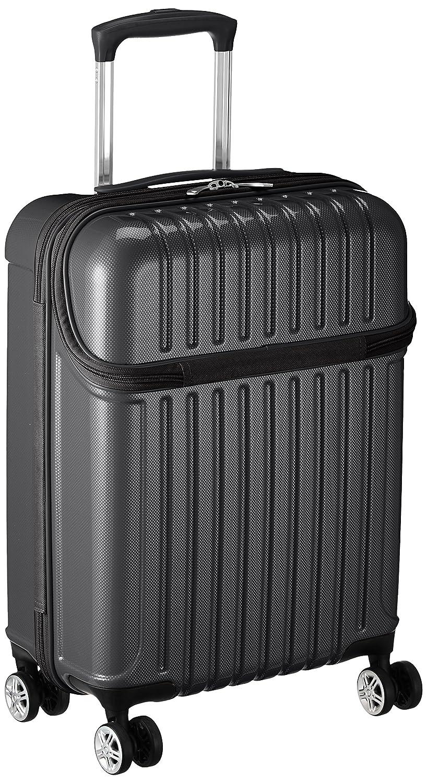 [アクタス] スーツケース トップス S 33L 3.2kg トップオープン 機内持ち込み 機内持込可  33.0L 53.5cm 3.2kg 74-20310 B077Y835MF ブラックカーボン ブラックカーボン