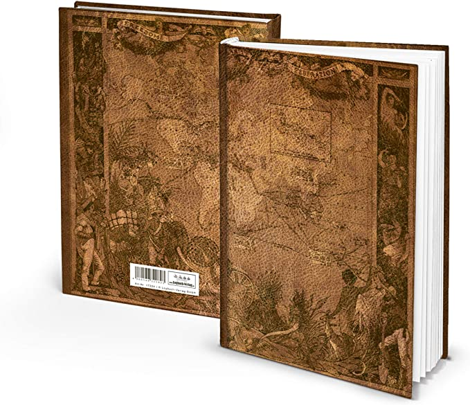 Cuaderno Viejo Mundo II en Blanco Cuaderno Diario de viaje vacíos ...