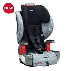 Britax Grow with You ClickTight Harness-2-Booster Car Seat - 2 Layer Impact Protection - 25 to 120 pounds, Spark