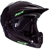 AWE® BMX Full Face Casco Nero M, 54-58cm