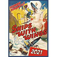 "Image for Wall Calendar 2021 [12 pages 8""x11""] Airplane WWII War # Vintage Movie Posters Reprint"