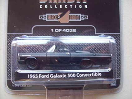 Amazon.com: Greenlight negro Bandit R4 1965 Ford Galaxie 500 ...