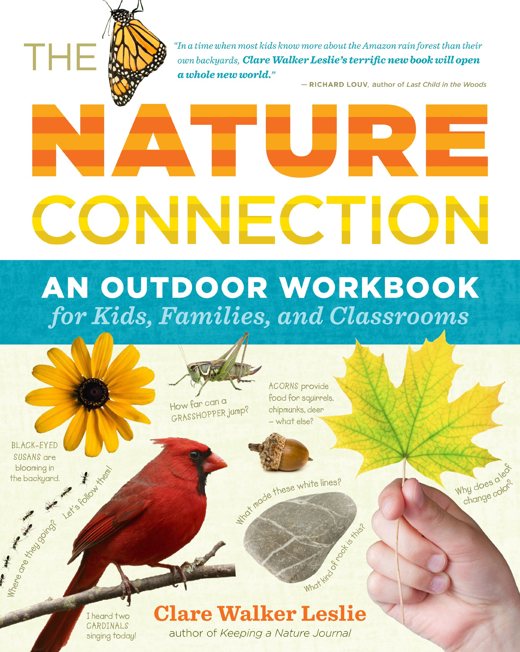 The Nature Connection: An Outdoor Workbook for Kids, Families, and Classrooms pdf