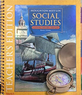 Amazon houghton mifflin social studies assessment options houghton mifflin social studies us history early years grade pre k 6 fandeluxe Image collections