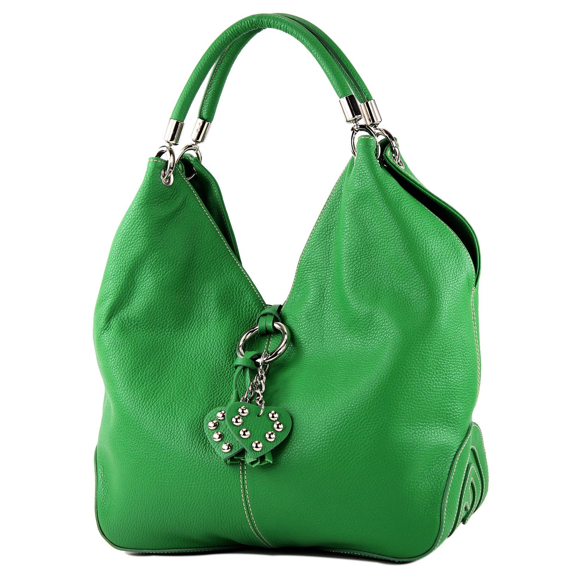 e47d0f74a34dd modamoda de - 330 - ital Handtasche Shopper Schultertasche Leder product  image
