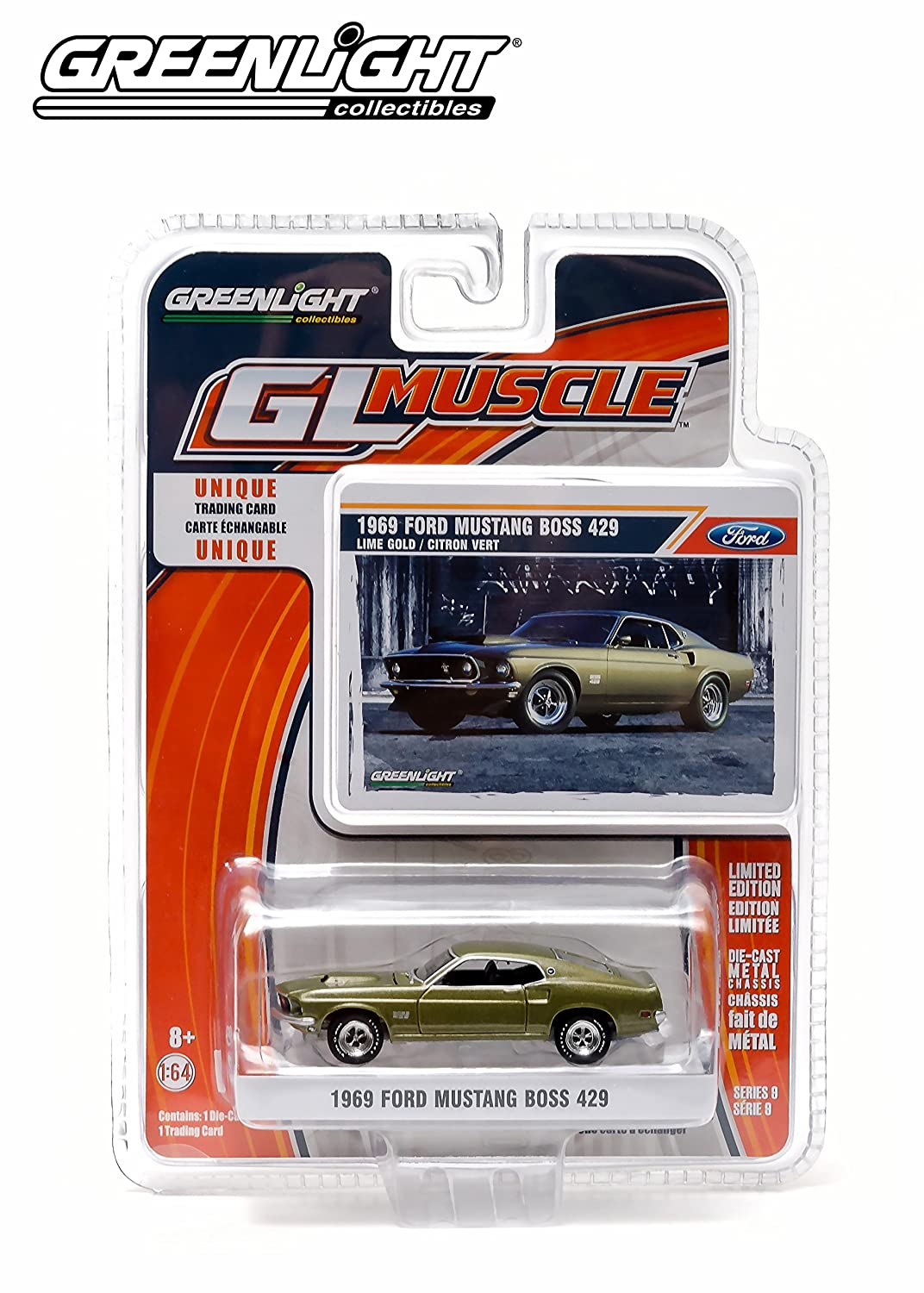 Greenlight GL Muscle Series 9 - 1969 Ford Mustang Boss 429 by GL Muscle
