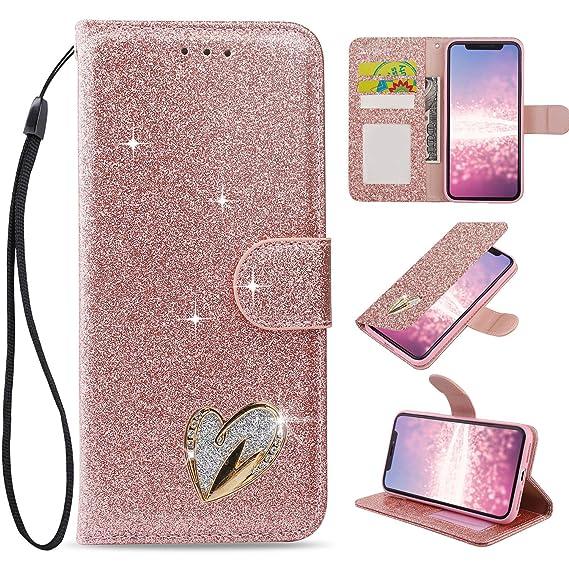 check out d8c3c 34776 Amazon.com: Bling Case for iPhone 6 Plus, iPhone 6S Plus Wallet Case ...