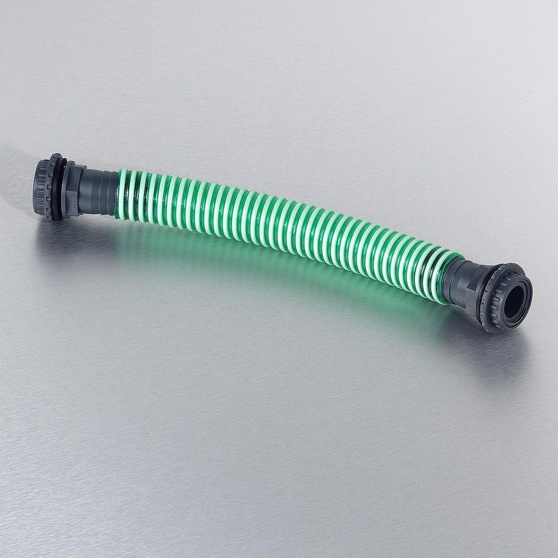 3P Technik Filtersysteme Regentonnenverbinder 52 mm als Set f/ür eine sichere Verbindung zwischen Regenwasssertonnen und Regenwassertanks