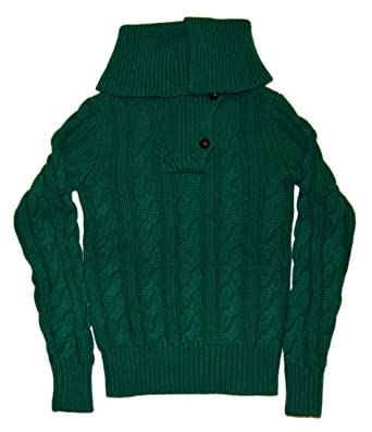 f8d50b53e1ff Ralph Lauren Womens Cashmere Cable Knit Turtleneck Sweater Top Green ...