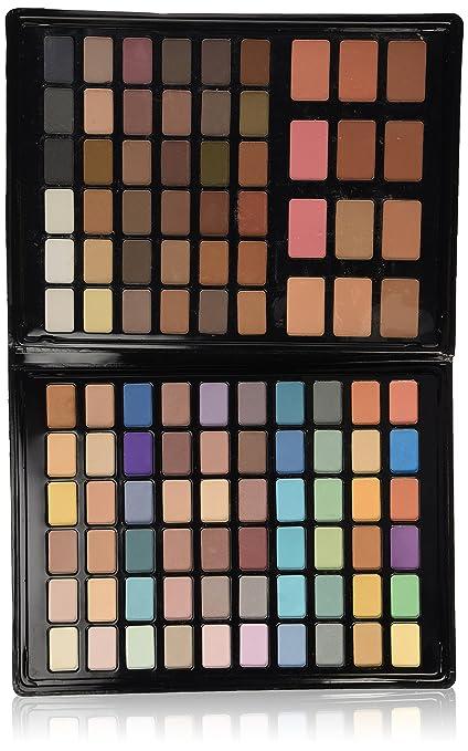 VicMartin - Estuche de maquillaje - 96 sombras + 12 ...