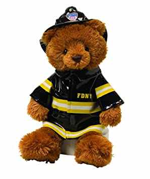 3f57f40d4a6 Gund FDNY Bear-Firefighter Teddy