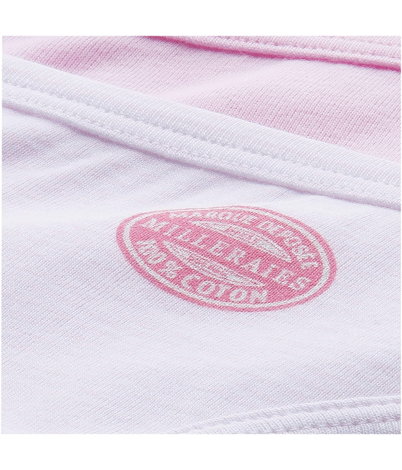 Petit Bateau 2 Pack Girls Panties Solid Pink//Striped Pink Style 15041 Sizes 2-18